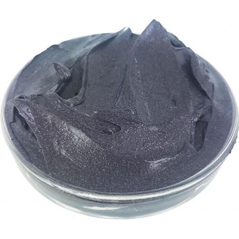 Black Mask with Tahiti Black Pearl