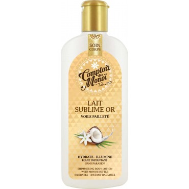 Gold Sublime Body Milk - Comptoir des Monoï