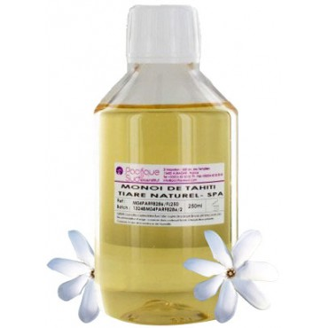 Monoi de Tahiti A.O Natural Tiare fragrance- 250 mL