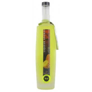 Pineapple Liquor - 70 cl - Manutea