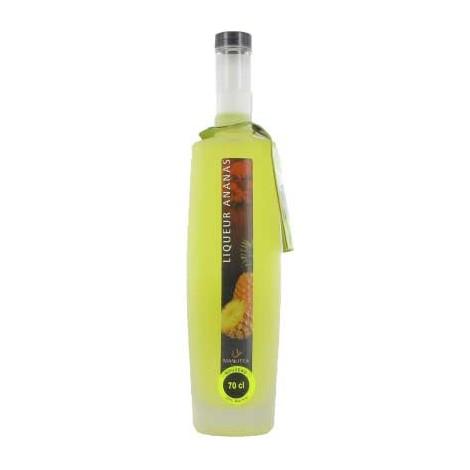 Liqueur Ananas - 70 cl - Manutea