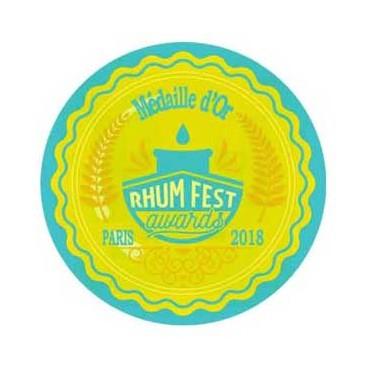 Pure Rum White Cane Juice - 50% - Best Rum Awards Paris 2018