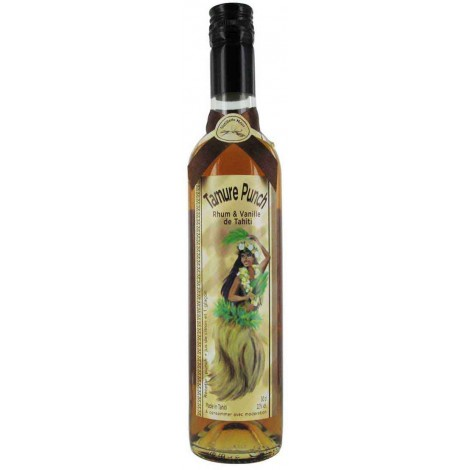 Vanilla Punch Tamure Rum - Front