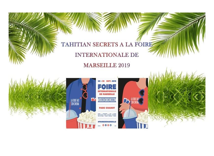 Tahitian Secrets à la Foire de Marseille 2019